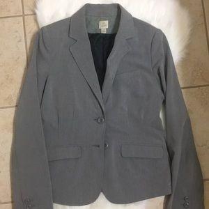 LC Lauren Conrad grey structured blazer